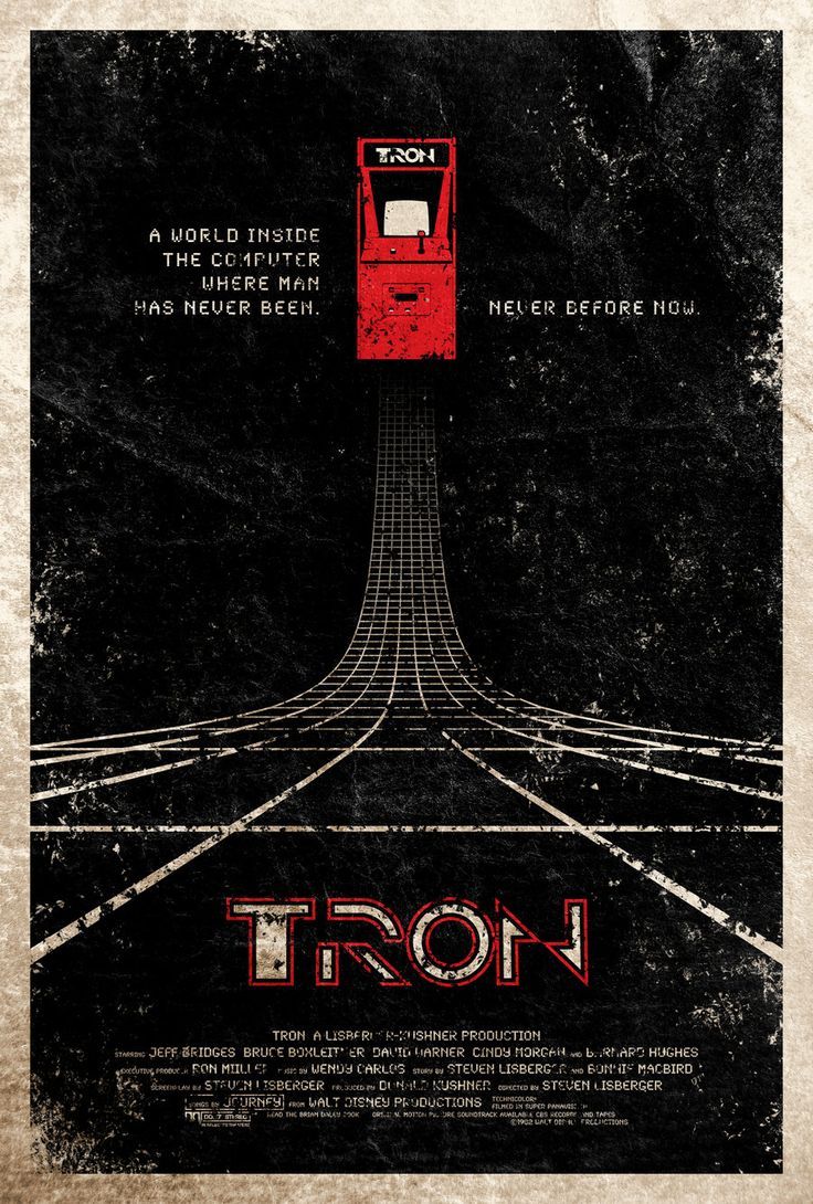 Tron: Movie Posters, Tron Poster, Movieposters, Movies, Adamrabalais, Sci Fi, Film Poster, Tron Movie