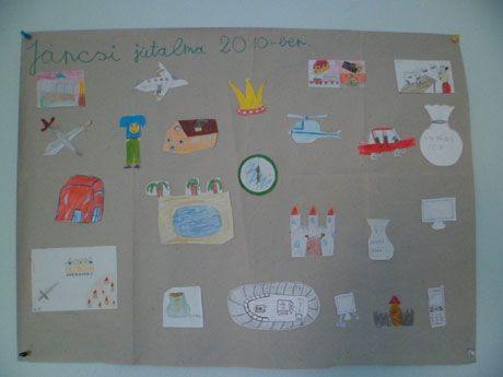 Gyerekmunkák a János vitéz projekthez