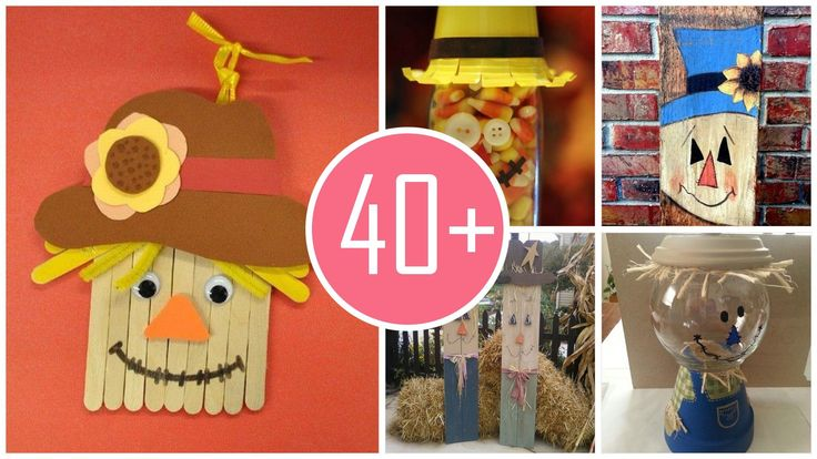 2015 Thanksgiving scarecrow crafts  you should follow