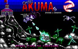 Download Chibi Akumas now! It's free and open source for Amstrad CPC!
