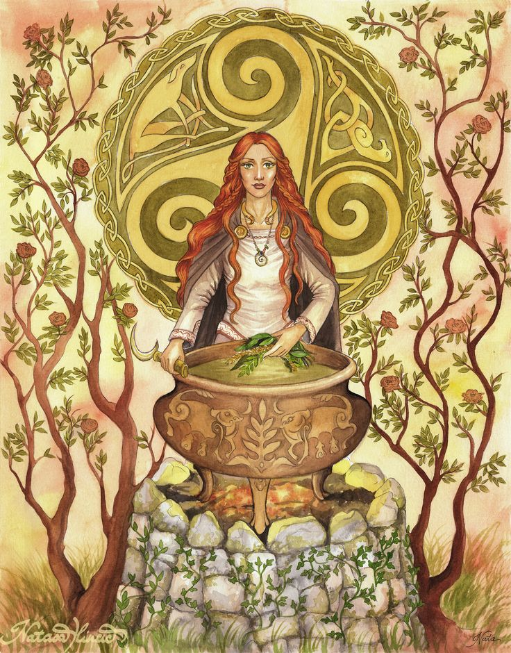 """""""Ceridwen"""", watercolour. Ceridwen is the shapeshifting Celtic goddess of knowledge, transformation and rebirth. The Awen, cauldr..."""