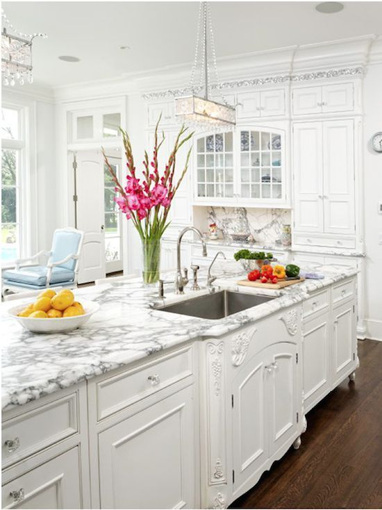 Beautiful White French Kitchens 358 best kitchen inspiration images on pinterest | kitchen, white