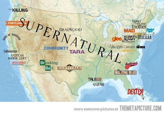 Love how they put supernatural ;)