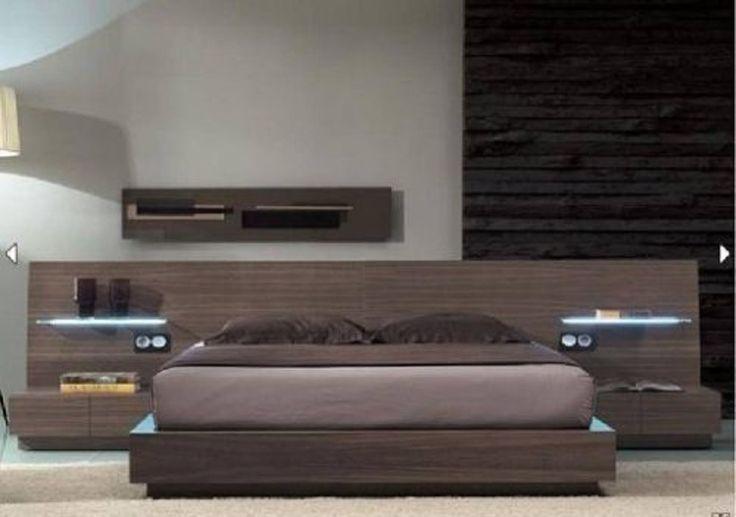 Art d012 juego de dormitorio moderno minimalista excelente for Mobiliario moderno