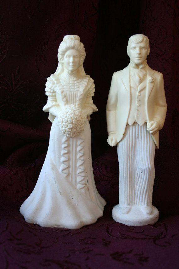 ON RESERVE For Donna - Bride & Groom Figurines ...