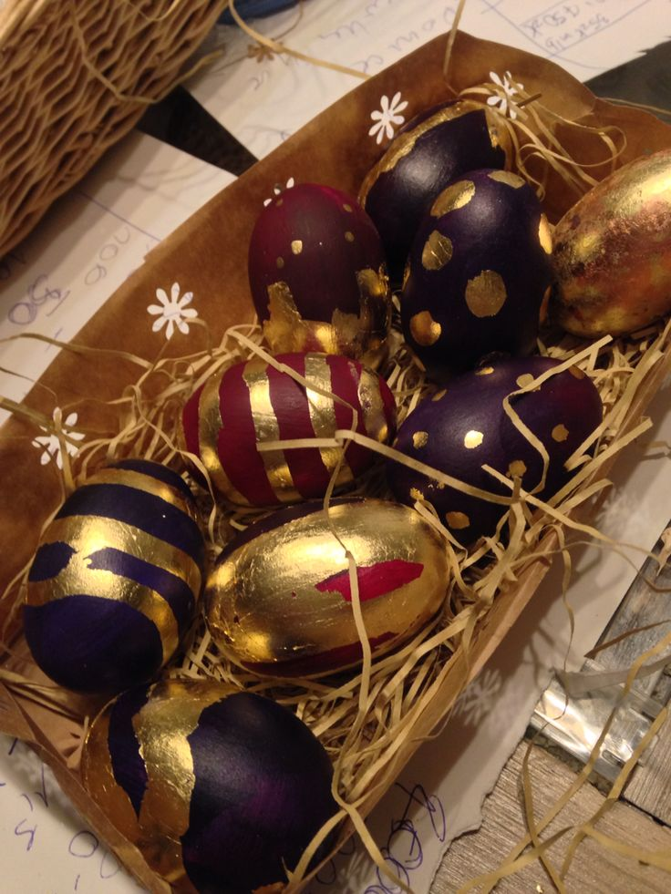 EASTER eggs  Pisanki  Malowane jajka!