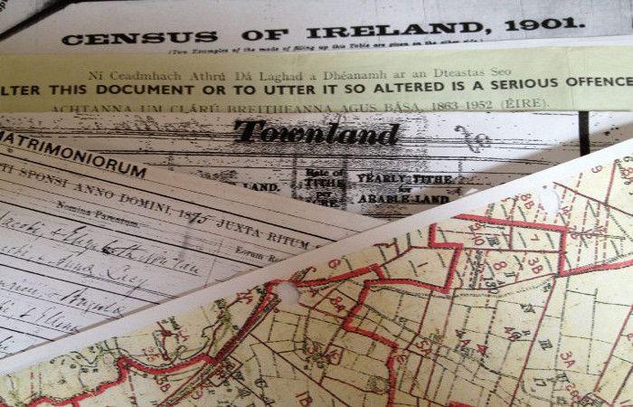 irish ancestors detected