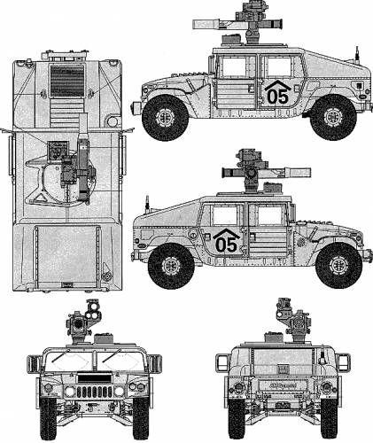 Humvee Blueprint