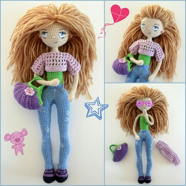 #crochet #crochetdoll #crochettoy #amigurumi #amigurumidoll