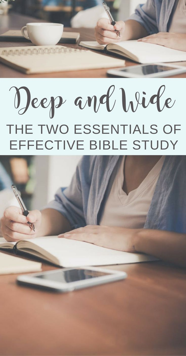 Understand and learn the two essentials of effective Bible study. Study the Bible online: Learn effective Bible study methods and study the Bible chronologically. | Scripture Confident Living