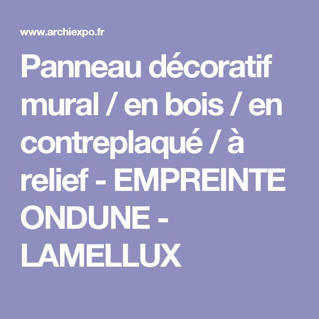 1000 id es sur le th me panneau en relief sur pinterest for Panneau decoratif mural bois