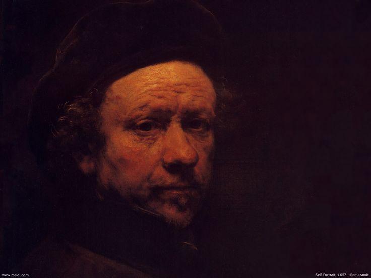 """""""Autorretrato"""" (1657), de Rembrandt van Rijn. Museo Nacional de Escocia."""