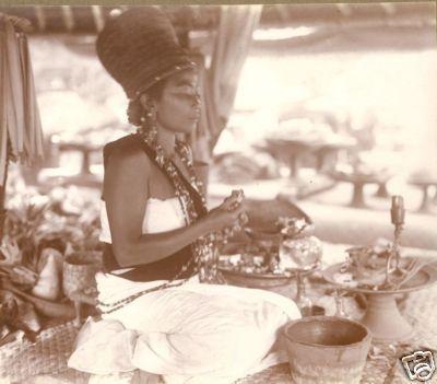Bali photo female Priest Weissenborn Indonesia 20s | eBay