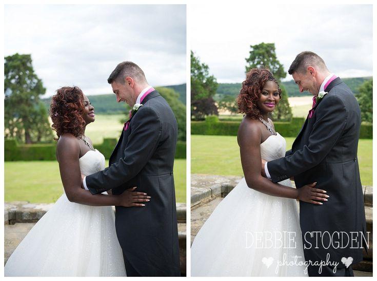 Bride and Groom practice first dance #GisboroughHall #wedding