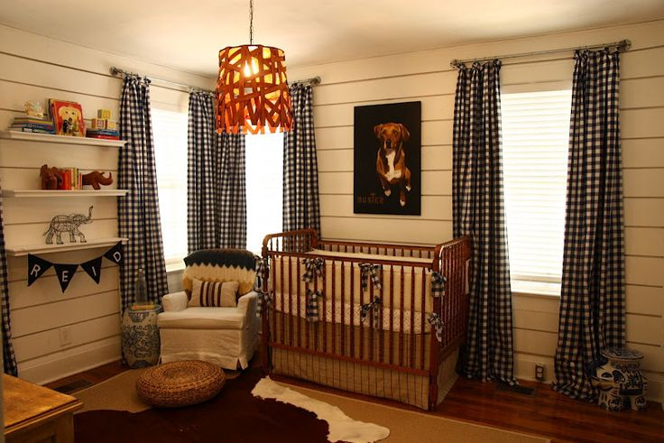 Chic country nursery by Smitten Designs