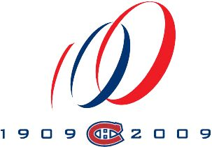 Montreal Canadiens 100th Anniversary Logo