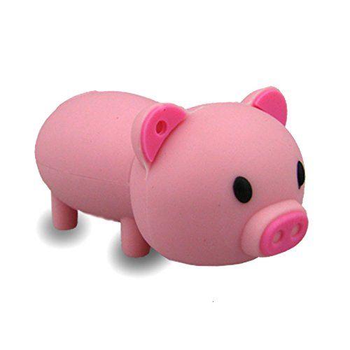 No17600020008 8GB USB-SPEICHERSTICK ROSA PEGGY PIG FIGUR USB-STICK