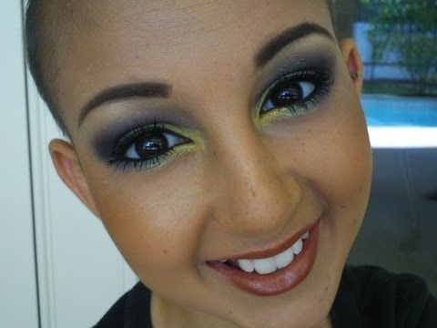 """I'm Talia, I'm 13 years old and I love makeup. """"Make-up is My Wig"""" I like to say. and you can prob see I'm bald- I have cancer. (neuroblastoma)& leukemia)  I dont like wearing wigs so I wear makeup to feel good and pretty inside-and I guess outside. LOL!       ANY QUESTIONS- ASK!!!    I HAVE LINKS.... .... LOL   Links!!!  For Business- Talia@taliajoy.c..."""