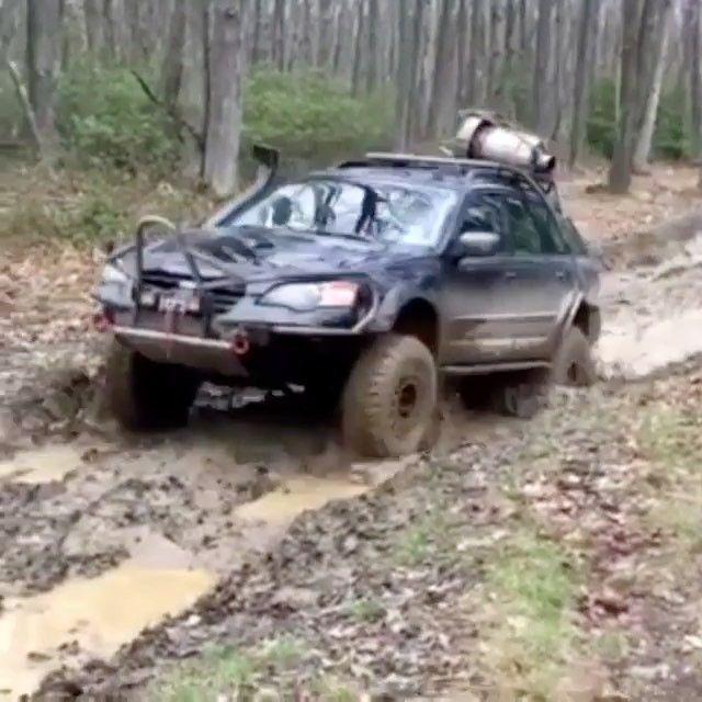 Subaru Legacy Wagon Off Road Trail Cruiser Video Subaru