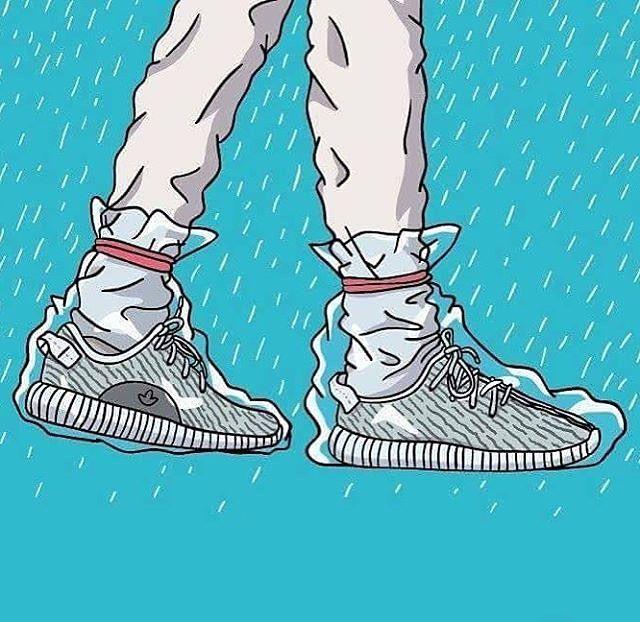 Image of ★ NEW ★ Yeezy 350 v2 Zebra (1) Sneaker art