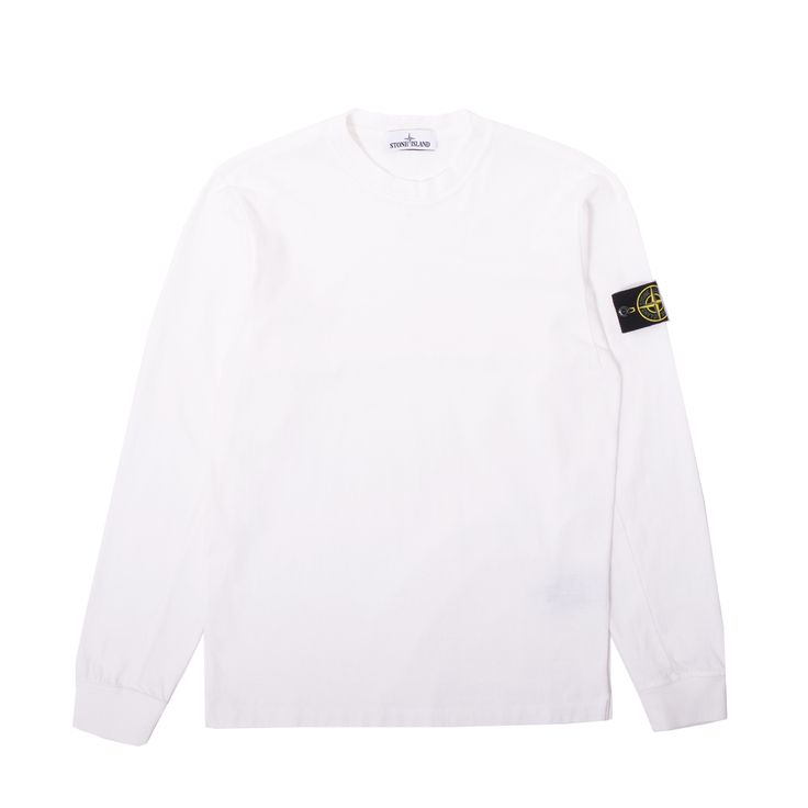 Crisp new Jersey Cotton Longsleeve T-Shirt from Stone Island.