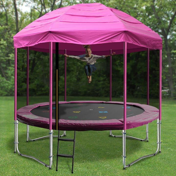 10ft Princess Trampoline Tent Trampolinecake Trampoline Tent Best Trampoline Backyard Trampoline