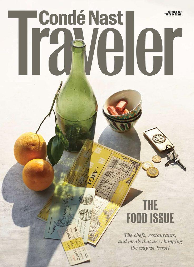 October 2014 issue of Conde Nast Traveler