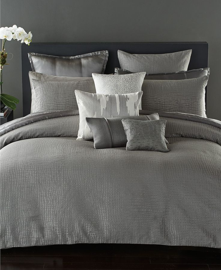 donna karan surface bedding collection bedding collections bed u0026 bath macyu0027s bridal and wedding registry