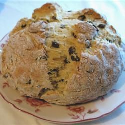 "Grandma McAndrews' Irish Soda Bread | ""Make an easy, round loaf of traditional Irish soda bread with a cross cut into the top with this recipe from a real Irish grandma."""