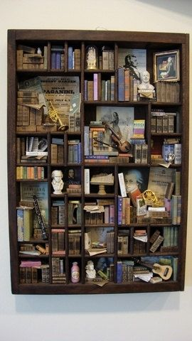 Miniature library!