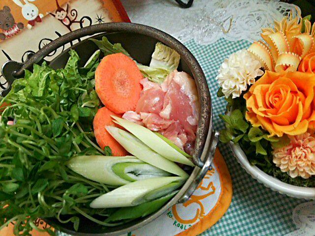 毎週木曜日は「ベジたべる」(*^▽^)/★*☆♪ - 29件のもぐもぐ - 白湯スープ鍋 by Yoshitsugu  Tsuchiya