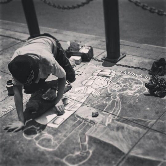 Pintando las calles