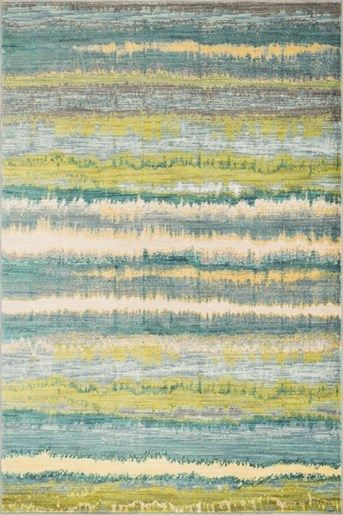 Love this fun area rug. Would look great with gray sofa and green/teal pillows and accent accessories. Loloi Rugs Lyon HLZ-15 Rugs | Rugs Direct