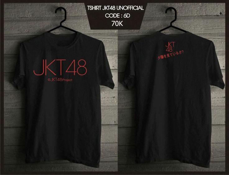 Kaos JKT48 - Pro Black -  SMS 0838 077 97257