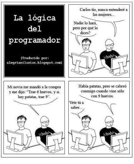 Humor para programadores: La lógica del programador - Punto Geek