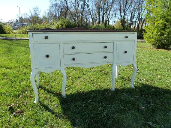 Rustic Farmhouse Buffet - would be great as a media console under a flat screen.  Or a really cool changing table in a nursery!
