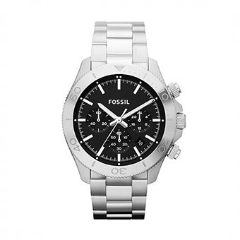 FOSSIL Retro Traveler Stainless Steel Chronograph CH2848