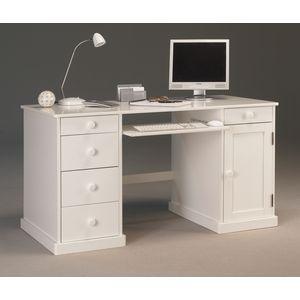 1000 ideas about meuble informatique on pinterest house - Meuble bureau ferme avec tablette rabattable ...