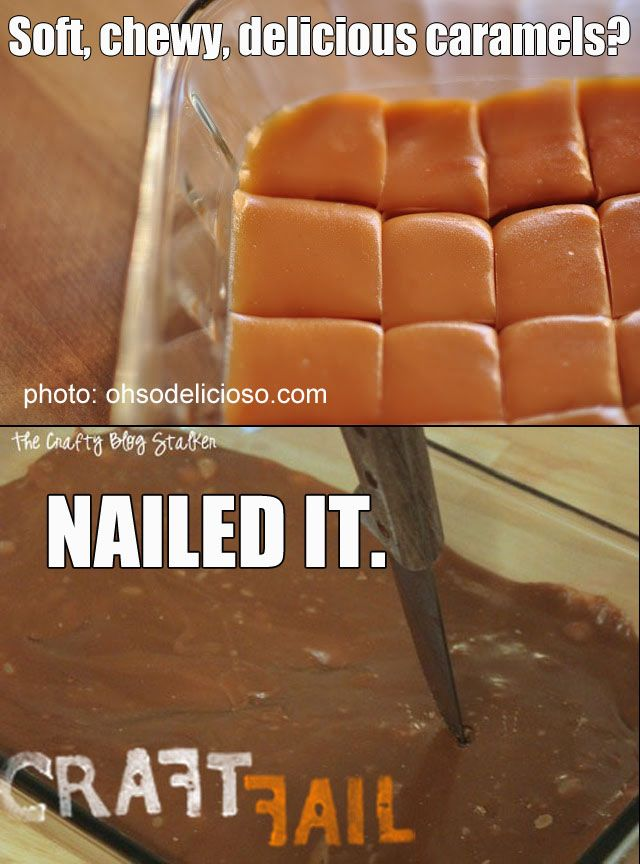 soft caramels | NAILED IT! | Pinterest