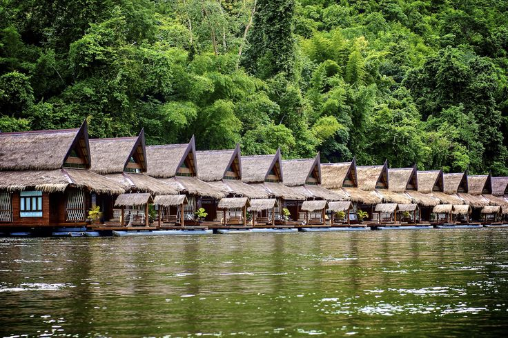 Floating Villa @ TheFloatHouseVilla #TheFloatHouse #Floatingresort #RiverKwai #Kanchanaburi #Luxuryresort
