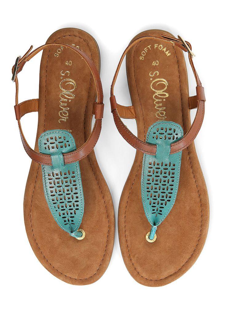 Ethno-Sandalen aus Leder von s.Oliver. Entdecken Sie jetzt topaktuelle Mode für Damen, Herren und Kinder online und bestellen Sie versandkostenfrei.
