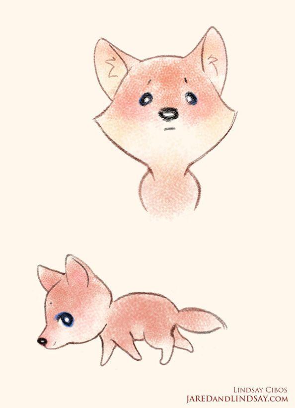 cute fox chibi - Tìm với Google