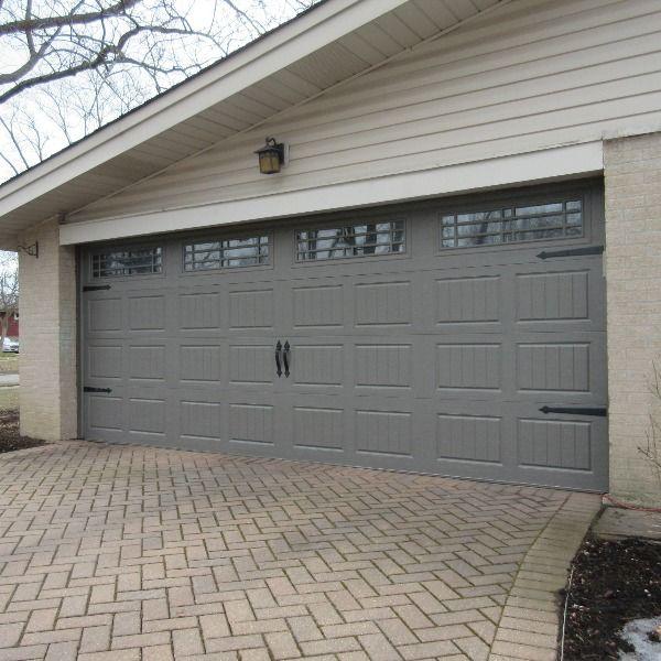 Terrific Terratone In 2020 Carriage Style Garage Doors Prairie Style Garage Doors Garage Door Colors