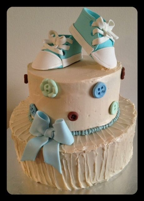 best butter cream baby shower cakes images on   baby, Baby shower invitation