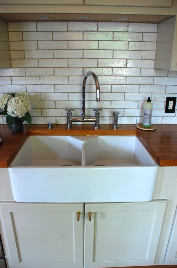 Ikea Domsjo Sink Undermount Installed With Butcher Block Counters |  Kitchen/Dining Room Project | Pinterest | Butcher Blocks, Sinks And Kitchens