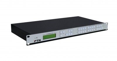 Multi-function video processor with 4 DVI inputs and 4 DVI outputs, it can be configurated to be a 4x4 matrix, 2x2 video wall processor or 4x1 multi-viewer.