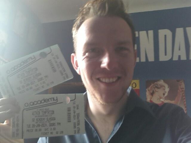 Glasgow 28th January! !! #WTworldtour