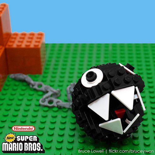 LEGO Chain Chomp...my nephews would love this