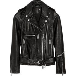 Classic Moto leather biker jacket