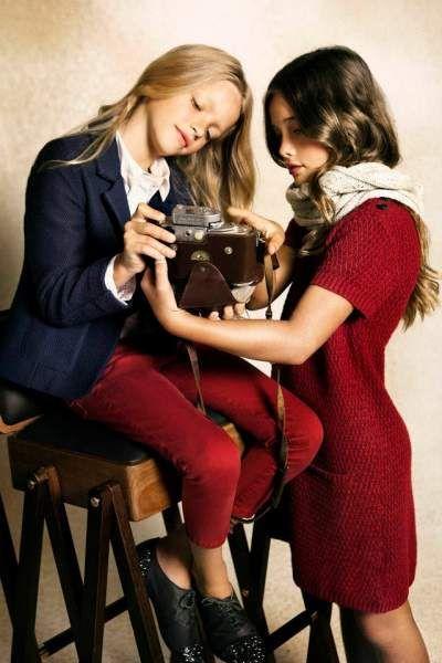 Ropa para niñas Massimo Dutti otoño-invierno 2012/2013